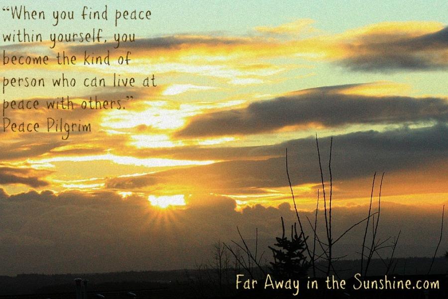 Morning peace