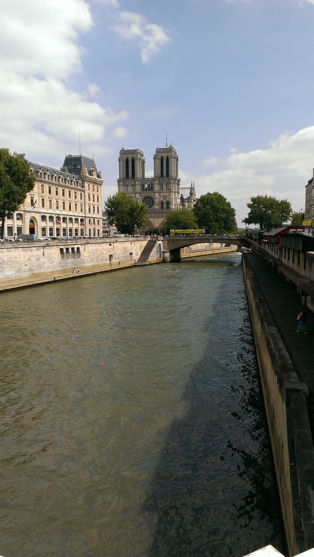 Notre-Dame and the river Seine